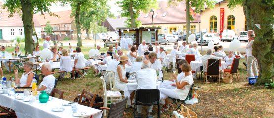 3. Picknick in Weiß