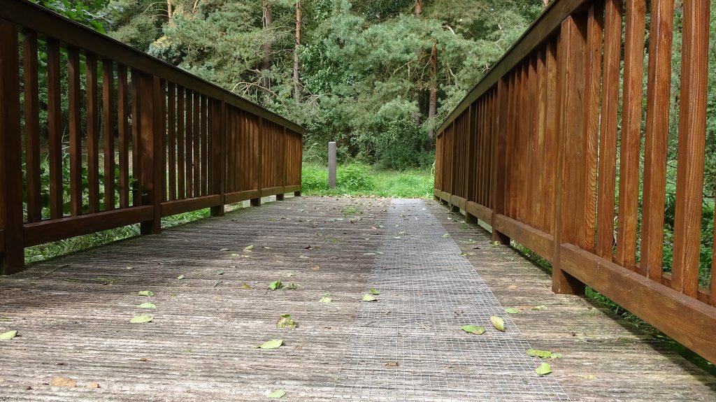 Goldbrücke mit Rutschschutz