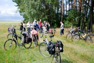 Literarische Radtour nach Schulzenhof 2016