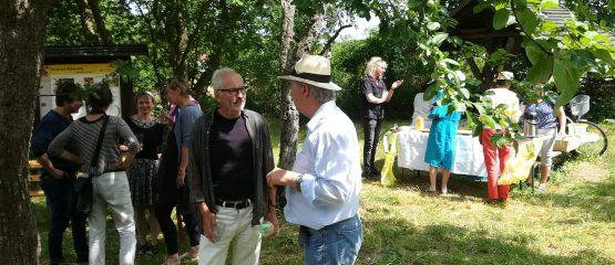 Lesung unter Apfelbäumen – Eugen Ruge