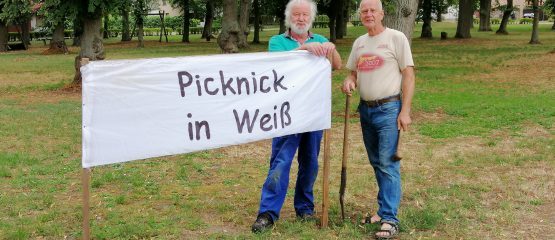 Picknick in Weiß – das V.