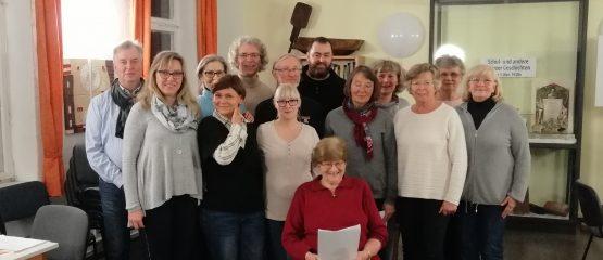 Singgruppe Menz – 1. Probe für das Weihnachtsbaumsingen!